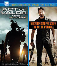Act Of Valor/Machine Gun Preacher  Blu-Ray NEW