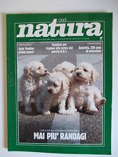 OGGI NATURA n.9 09/1988 Isole Pontine Randagismo Porcini doc Australia