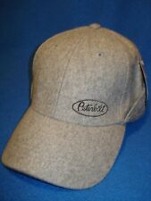 Peterbilt Hat:      GREY WOOL WITH FLIP BACK EAR FLAPS    *Free Shipping*