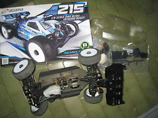 Agama A215 1/8 race buggy chassis used good condition