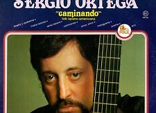 SERGIO ORTEGA disco LP 33 giri MADE in ITALY  Caminando