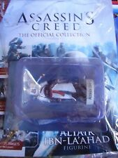 ASSASSINS CREED HACHETTE ISSUE # 1 ALTAIR IBN LAAHAD MAGAZINE AND FIGURE