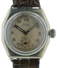 Vintage Rolex Oyster Royal Hermetic Sterling Silver Case Watch