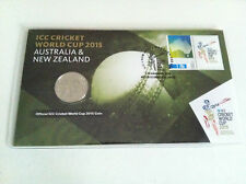 2015 UNC 20c ICC Cricket World Cup Aust & NZ PNC