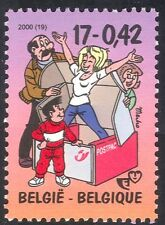 "Belgium 2000 Stamp Week/""Kiekeboe"" TV Series/Cartoons/Animation 1v (n42894)"