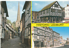 Herefordshire Postcard - Views of Historic Ledbury    AB1656