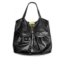 Bnwt JIMMY CHOO x grandi BIG BLACK LEATHER A Spalla Borsa A Mano Tote H&M