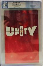 Unity Red 9.8 PGX Retailer Preview Edition NM/Mint not cgc Valiant Comics
