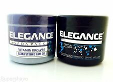 2 Pack Elegance By Sada Pack Triple Action & Medium Hold Pomade Hair Gel 500ml