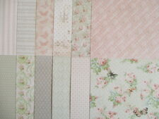 "Sample pack - Dovecraft Floral Muse 6x6"" scrapbook backing papers x12"