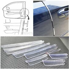8X Car Door Edge Guards Trim Molding Protection Strip Scratch Protector Anti-rub