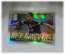 2014 Panini Prizm World Cup Refractor Net Finders Javier Hernandez Mexico #19