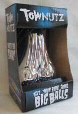 44575 CHROME TOW NUTZ NUTS BALLS BALL CAR TRUCK TOW BAR