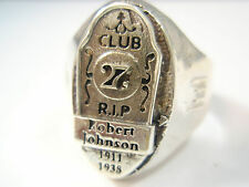 Sterling Silver 925 Forever Club 27 Robert Johnson 27 Club Ring from rare set