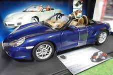 PORSCHE 911 (986) BOXSTER S cabriolet bleu blue 1/18 AUTOart 77881 auto art