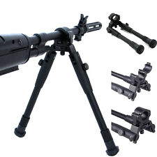 "8-10""Adjustable Spring Loaded Bipod Hunting Shooting Air Rifle Gun Barrel MountB"