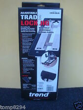 BRAND NEW TREND ADJUSTABLE TRADE ROUTER LOCK JIG LOCK/JIG/B