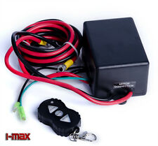 Wireless 3000LBS/1360kg12V Boat ATV 4WD Electric Winch Control Box Set