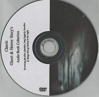 Huge Classic Ghost & Horror 328 Audio Books Collection on MP3 DVD over 128hrs