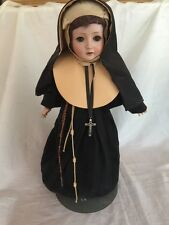 "Antique Revalo Gebruder Ohlhaver Bisque Compo 23"" #3 Doll Germany  Nun Outfit"