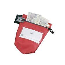 VersaPak efectivo Bolsa con Cremallera ccbo rojo pequeño-RDS para el uso con juntas de seguridad 311698