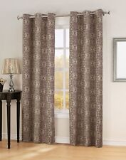 Sun Zero Ravi 40 by 63-Inch Thermal Lined Curtain Panel, Wine