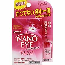 Rohto Lycee Nano Eye clearshot Eyedrops Eye drops 6ml from Japan