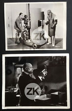 JACQUES TOURNEUR Camera RADIUM Radioactivité BECQUEREL Tournage 2 Photos 1937