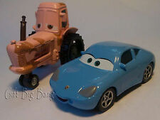 2PCS Mattel Disney Pixar Cars Sally & Tractor Chewall 1:55 New in Stock Loose