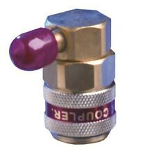 Right angle R134a service coupler high side supplied with 1/4'' SAE N022164H
