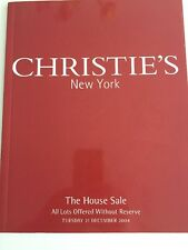 Christie's Christies New York Catalogue The House Sale 21 December 2004