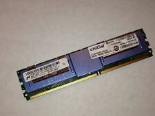 Micron Crucial 64GB (8GB x 8), 240-pin DIMM, DDR2 PC2-5300 fully buffered