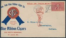GEO. FEHL BLUE RIBBON CIGAR Co. ST LOUIS, MO MAY 20,1904 ADVT COVER BS2254