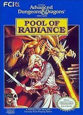 Advanced Dungeons & Dragons: Pool of Radiance (Nintendo, NES) ** Cart Only! **
