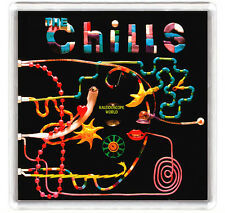 THE CHILLS - KALEIDOSCOPE WORLD LP COVER FRIDGE MAGNET IMAN NEVERA