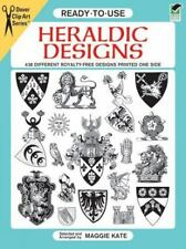 Ready-to-Use Heraldic Designs Dover Clip Art Ready-to-Use