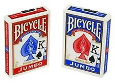 4 New Decks Bicycle 808 Poker Jumbo Index Playing Cards