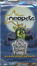 NEOPETS TCG Haunted Woods BOOSTER PACK w/ code card RARE!