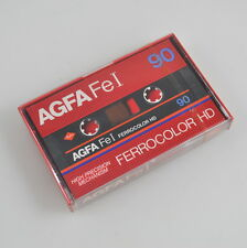 AGFA Fe I 90 Ferrocolor HD Kassette / Tape - neu new sealed - Vintage
