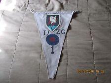 WWII GERMAN LUFTWAFFE I./ZG1 NITE FIGHTER VICTORY PENNET-   FLAG