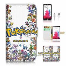 LG G4 Flip Wallet Case Cover! P1917 Pokemon