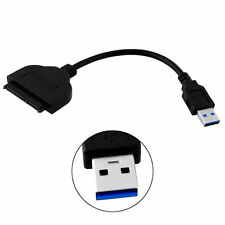 New USB 3.0 To SATA 22 Pin 2.5 Inch Hard Disk Driver SSD Adapter Cable Connector
