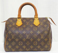 Authentic Louis Vuitton Signature Speedy 25 SP0031