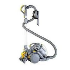 Dyson DC08 Silver/Yellow Buttons Canister Vacuum cleaner  60 DAY WARRANTY