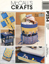 McCall's Fat Quarters Sewing Accessories Pattern P254