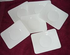 Villeroy & Boch Modern Grace white Rectangle Saucer 14 x 17 cm NEW (6 available)