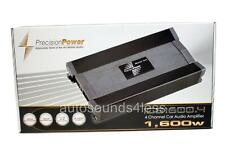 Precision Power PPi ICE1600.4 1600 Watt 4-Channel Class AB Full Range Amplifier