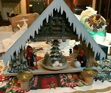 Ratags Propeller Christmas House, Candles operate propeller, new w price tags