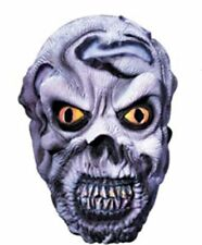 Mens UNDEAD SKULL FACE Latex Mask Adult Teen Zombie Halloween Accessory 67140