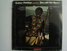 ESTHER PHILLIPS For All We Know JAZZ  LP SEALED KUDU